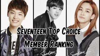 getlinkyoutube.com-Seventeen Top Choice - Member Ranking