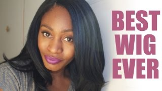 getlinkyoutube.com-Best Synthetic Wig To Ever Exist!!! | Freetress Equal - Jannie | Yaki Texture
