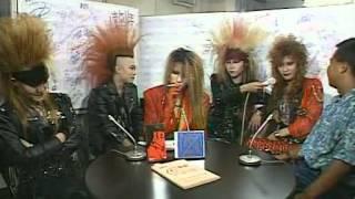 getlinkyoutube.com-X Japan 1989 / Interview + Blue Blood & Endless Rain