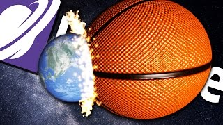 getlinkyoutube.com-Universe Sandbox 2 - BASKETBALL DESTROYS THE WORLD!