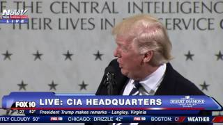 getlinkyoutube.com-FULL SPEECH: Donald Trump CIA Headquarters Statement
