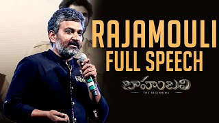 Rajamouli Full Length Speech - Baahubali - The Beginning || Audio Launch Live