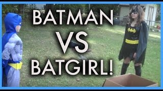 getlinkyoutube.com-BATMAN VS. BATGIRL - THE MOVIE