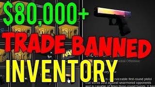 getlinkyoutube.com-CS GO - $80,000+ Trade BANNED Inventory Showcase