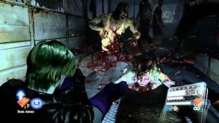 getlinkyoutube.com-Resident Evil 6 - Joker Leon Mod - Why So Serious ?