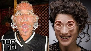 Top 10 Shocking People You Won't Believe Exist - Part 2