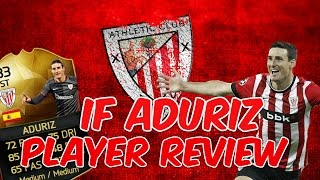 getlinkyoutube.com-IF Aduriz 83 Rated ll Fifa 16 Player Review