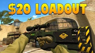 getlinkyoutube.com-CS:GO - The $20 Loadout