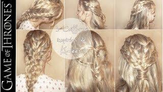 getlinkyoutube.com-➳ 3 coiffures inspirées de Khaleesi - Game of Thrones | L.A Hairstyle Inspiration