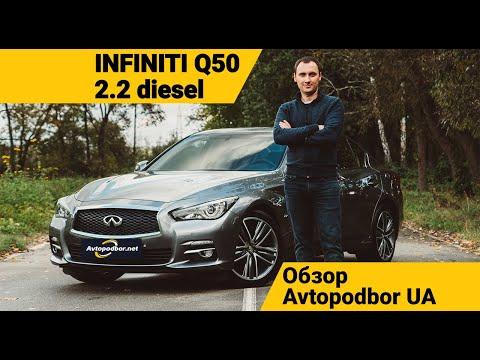 Как новый Infiniti Q50 2.2d Diesel дешевле чем у дилера? Обзор Avtopodbor UA