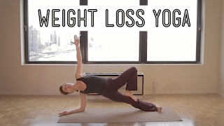 getlinkyoutube.com-Weight Loss Yoga: Body Carve (open)
