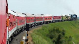 getlinkyoutube.com-PARALLEL run and VERTICAL Crossing : Indian Railways AKOLA