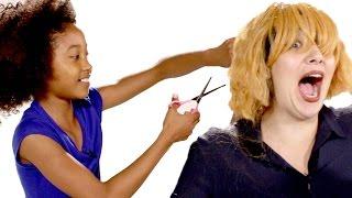 Kids Give Adults Haircuts