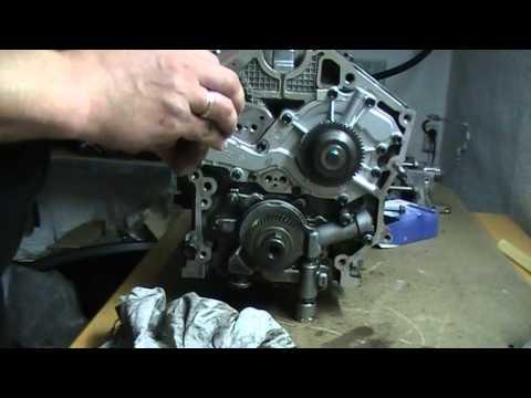 Opel vectra c,Insignia 3,0L 177 PS wasserpumpe einbauen,Install water pump, установка водяной насос