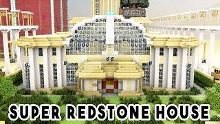getlinkyoutube.com-SUPER REDSTONE HOUSE (1000+ Redstone Creations!!) - Biggest Redstone House Ever!
