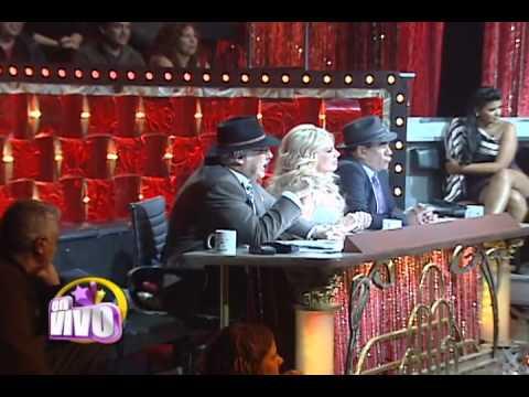 Paola Durante la ganadora de la noche de secretos en Mi sueño es bailar. EN VIVO