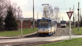 getlinkyoutube.com-Trams  Trolleybuses in Ostrava Tramvaje a trolejbusy v Ostravě Straßenbahn u O-Busse in Ostrava 1/2