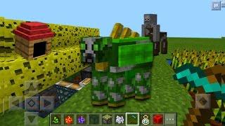 getlinkyoutube.com-TRUCOS Y ERRORES EPICOS EN MINECRAFT PE 1.0 - Bugs En Minecraft PE 1.0