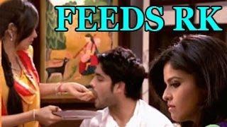 getlinkyoutube.com-Madhubala FEEDS FOOD to RK in Madhubala Ek Ishq Ek Junoon 16th November 2012