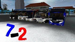Berangkat 7 Bus Finis Tinggal 5 Armada - Bussid Game Bus Simulator Android
