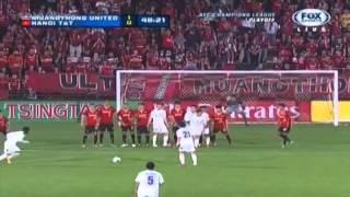 getlinkyoutube.com-ไฮไลท์-เมืองทอง ยูไนเต็ด 2 - 0 ฮานอย ทีแอนด์ที - เอเอฟซี แชมเปี้ยนส์ลีก
