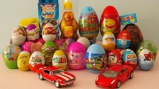 getlinkyoutube.com-30 Sürpriz Yumurta Açma | Sürpriz Yumurta izle - Yeni Oyuncak ve Yumurtalar Kinder Surprise Eggs HD