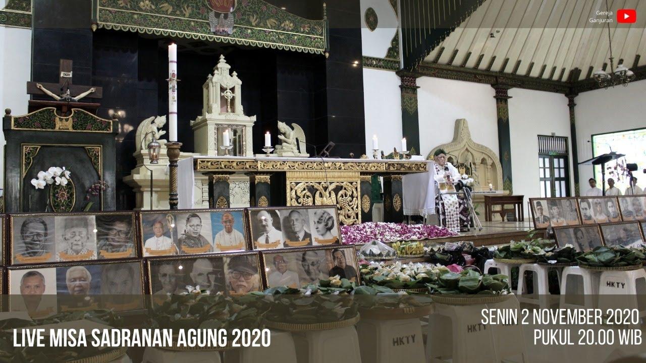 Gambar Misa Sadranan Agung 2020