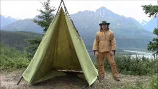 getlinkyoutube.com-Making A Tent From A Tarp