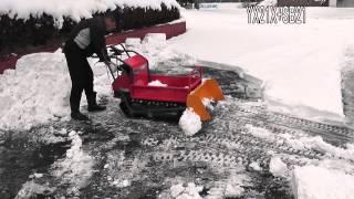 getlinkyoutube.com-ウインブルヤマグチ 除雪機 運搬車 YX・PM用スノーブレード