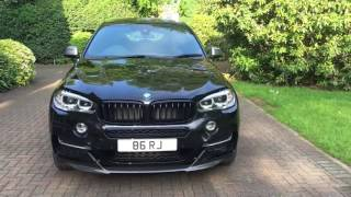 getlinkyoutube.com-BMW X6 M50D 2016 with M Performance Body Kit Review
