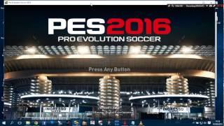Update PES 2016