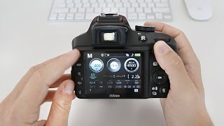Nikon D3400 Tutorial For Beginners (Buttons, Dials & Settings)