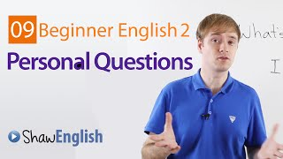 getlinkyoutube.com-Asking Personal Questions in English