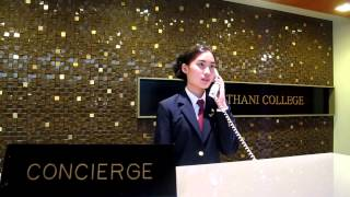 FRONT OFFICE CHECK IN | Dusit Thani College