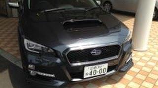 getlinkyoutube.com-SUBARU ニューモデル新型レヴォーグ 2.0GT-S EyeSight メッシュフロントグリル変更車!