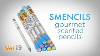 getlinkyoutube.com-Smencils Gourmet Scented Pencils (10-pack)