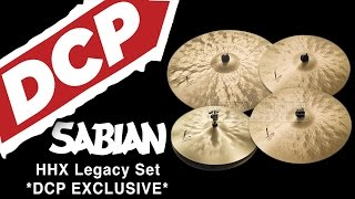 Sabian HHX Legacy Cymbal Set - DCP Exclusive!