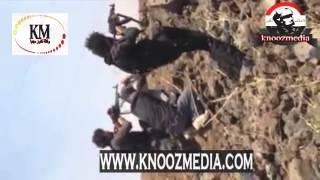 لحضه قنص احدافراد الدواعش على يدقناص الجيش العراقي
