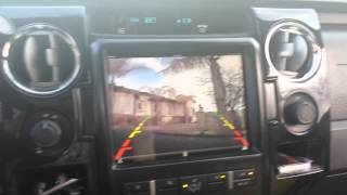 In Dash ipad with Back up Camera!!!