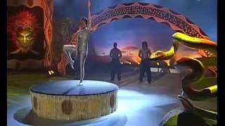 getlinkyoutube.com-Africa's got talent - snake woman. ( Schlangenfrau)
