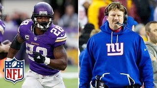 Would Adrian Peterson be a Good Fit with the Giants?   NFL   DDFP
