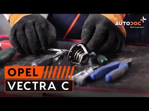Как се сменят Термостат на OPEL VECTRA C урок | Autodoc