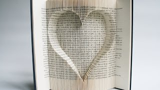 getlinkyoutube.com-Book Folding Tutorial - Inverted Heart