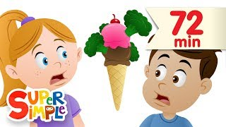 Do You Like Broccoli Ice Cream? + More | Nursery Rhymes | Super Simple Songs width=
