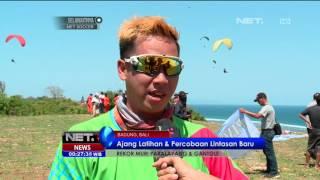 getlinkyoutube.com-Ratusan Atlet Paralayang dan Gantole Pecahkan Rekor Muri di Bali - NET24