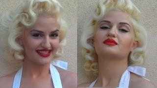 getlinkyoutube.com-Marilyn Monroe Hair Tutorial