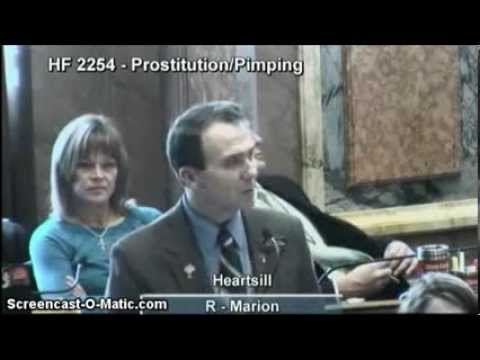 Rep. Greg Heartsill: Protect Underage Iowans Who Have Been Forced into Prostitution