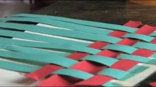 getlinkyoutube.com-Art for Kids : Art for Kids: How to Weave a Mat