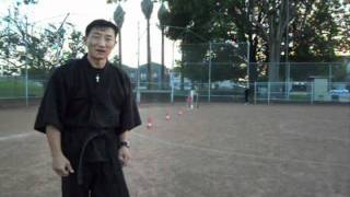 getlinkyoutube.com-Chosun Ninja Part 1( How to throw Shurikens for beginners) video #267