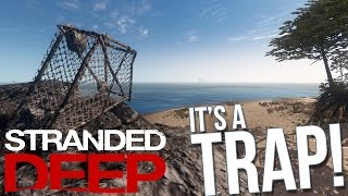 getlinkyoutube.com-Stranded Deep - IT'S A TRAP (Fish Trap) - Stranded Deep Gameplay Part 32